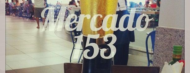 Mercado 153 is one of Bares e Restaurantes.