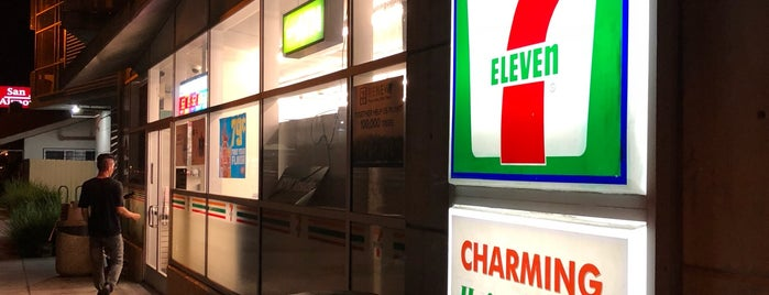 7-Eleven is one of Lugares favoritos de Hideo.