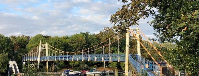 Teddington Lock Foot Bridge is one of Bridges :-).