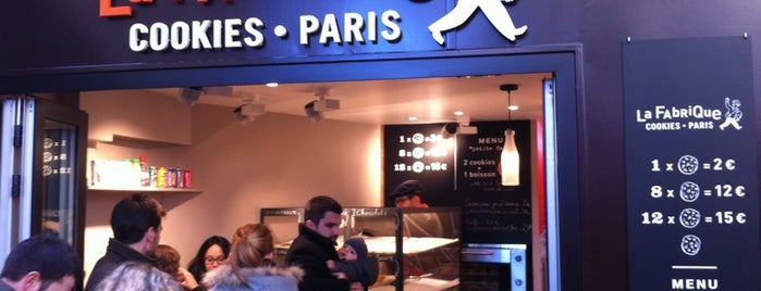 La Fabrique Cookies is one of Paris.