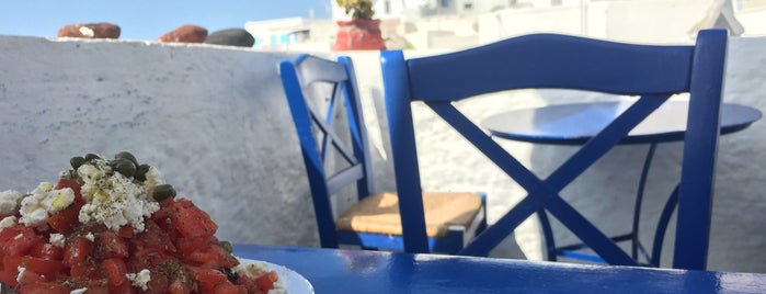 Penelope's is one of Santorini.