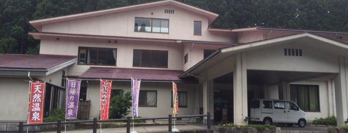 福井市美山森林温泉みらくる亭 is one of 訪れた温泉施設.