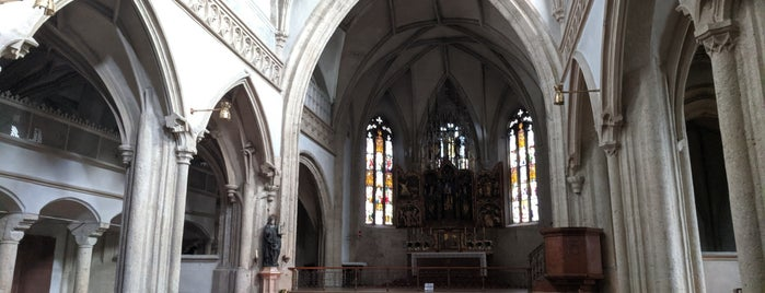Stiftskirche Nonnberg is one of SALZBURG.