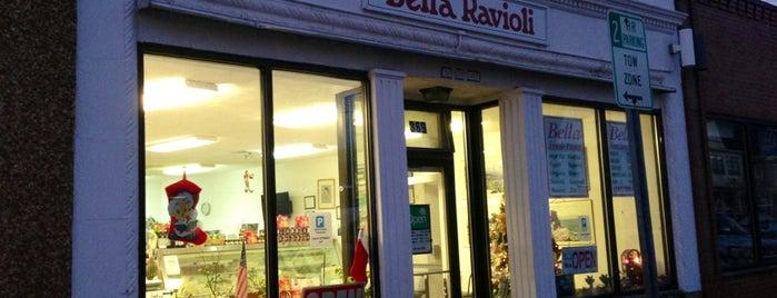Bella Ravioli is one of Lieux qui ont plu à Eric.