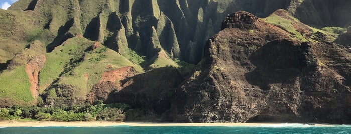 Napali Coast is one of Hawai'i.