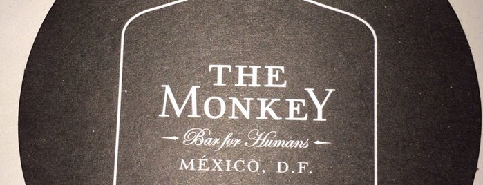 The Monkey is one of Gespeicherte Orte von Alex.