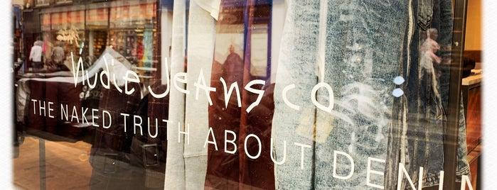 Nudie Jeans Soho is one of London.