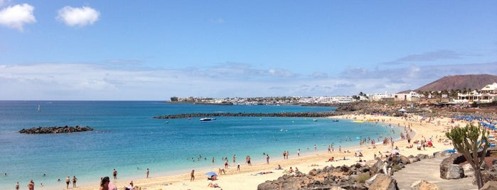 Playa Dorada is one of Lanzarote, Spain.