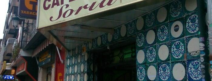 Bar Soria is one of Granada.