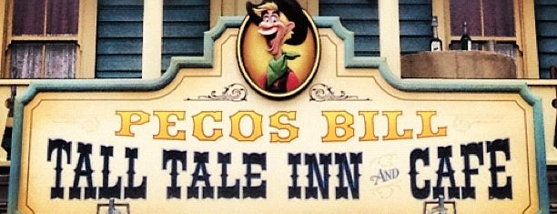 Pecos Bill Tall Tale Inn & Café is one of Walt Disney World.