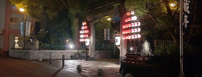 八劔神社 (鴫野戎社) is one of 大阪市城東区.
