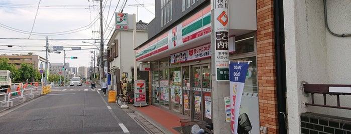 セブンイレブン 板橋稲荷台店 is one of スラーピー(SLURPEEがあるセブンイレブン.