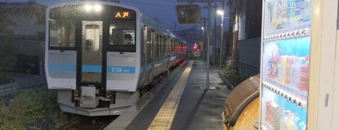 白銀駅 is one of JR 키타토호쿠지방역 (JR 北東北地方の駅).