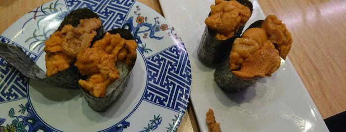 廻し鮨 大漁 is one of Locais curtidos por Masahiro.