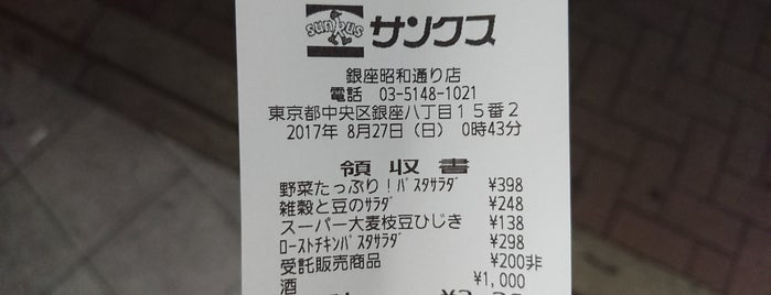 サンクス 銀座昭和通り店 is one of closed.