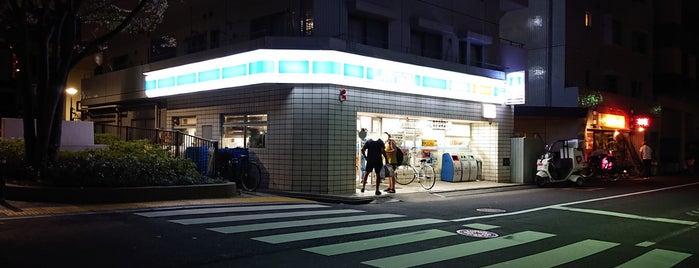 ローソン 亀戸南店 is one of よく行くところ.