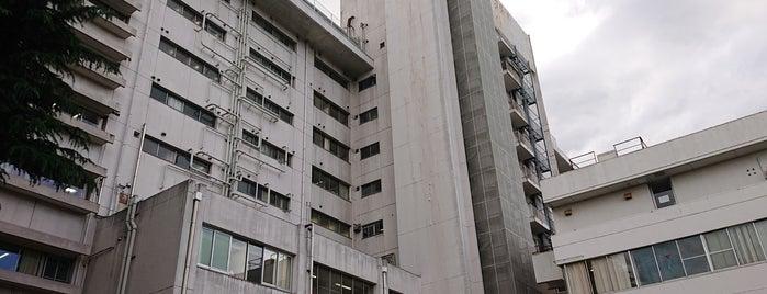 東京慈恵会医科大学附属第三病院 is one of Lugares favoritos de モリチャン.