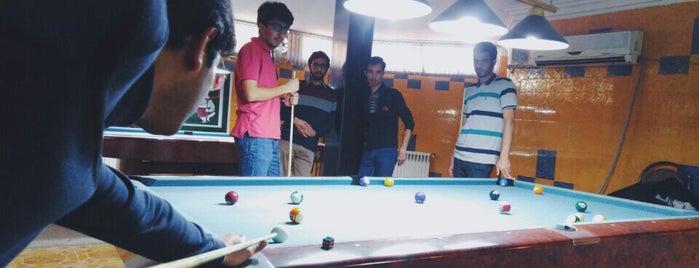Pasargad Billiard | بیلیارد پاسارگاد is one of Tempat yang Disukai H.