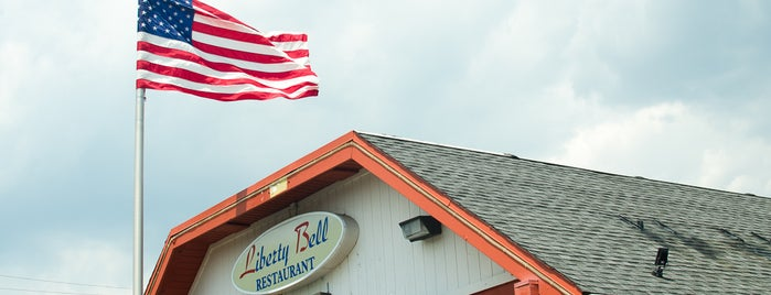 Liberty Bell Diner is one of Posti salvati di Anthony.