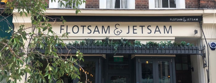 Flotsam & Jetsam is one of London.