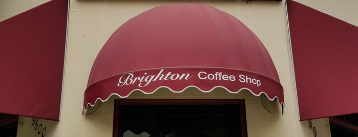 Brighton Coffee Shop is one of Pacific Old-timey Bars, Cafes, & Restaurants.