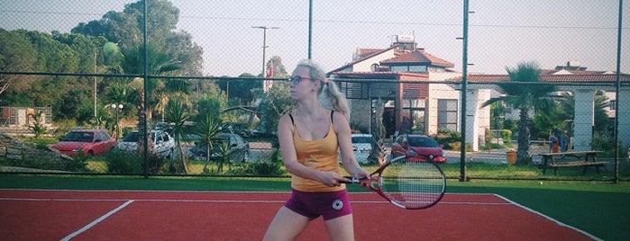 River Garden Tennis Court is one of Locais curtidos por Princessa.
