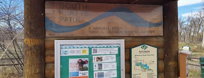 South Platte Park and Carson Nature Center is one of Denver Sites.
