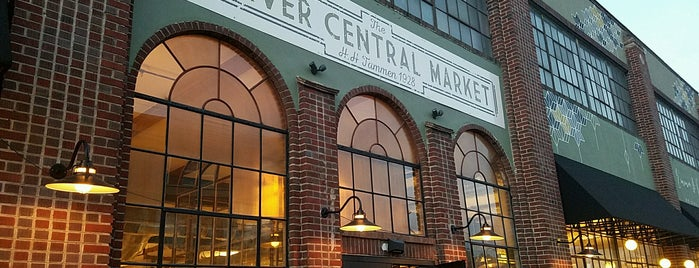 The Denver Central Market is one of Lugares guardados de Lucy.