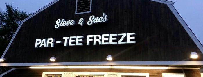 Steve & Sue's Par-Tee Freeze is one of Locais curtidos por David.