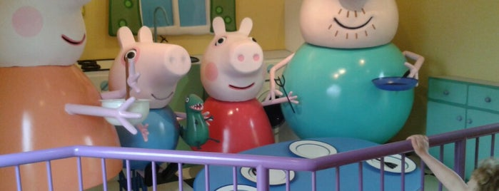 Peppa Pig World is one of UK Tourist Attractions & Days Out.