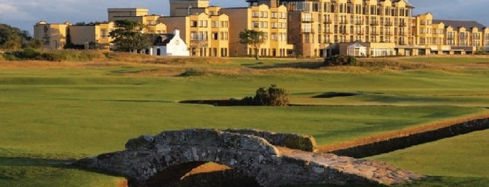 Old Course Hotel Golf Resort & Spa is one of Condé Nast Traveler Platinum Circle 2013.