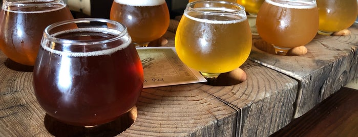 Haw River Farmhouse Ales is one of Breweries or Bust.