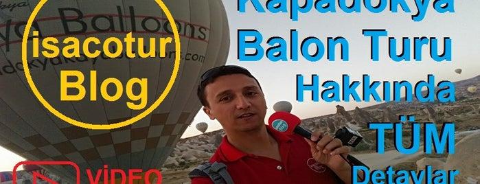 Air Kapadokya Balloons is one of isacotur 님이 좋아한 장소.