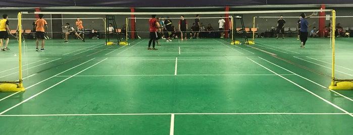 V1 Badminton Sport Center is one of Jason : понравившиеся места.