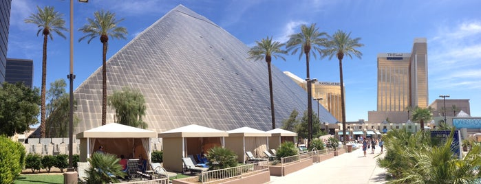 Luxor Hotel & Casino is one of Vegas.