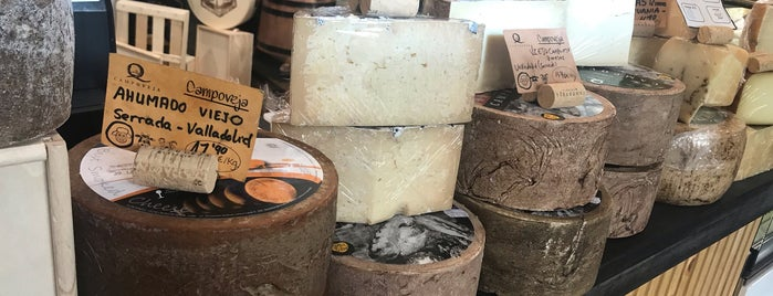 Campoveja Quesería-Fromagerie is one of สถานที่ที่ Barb ถูกใจ.