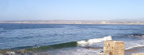 San Carlos Beach Park is one of HWY1: Santa Cruz to Monterey/Carmel.