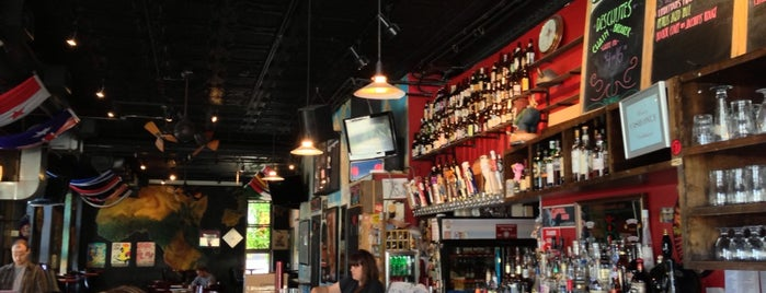 The Map Room is one of America's 100 Best Beer Bars - Draft Magazine 2014.