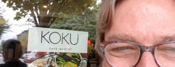 Koku is one of Seattle food.