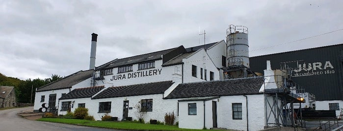 Jura Distillery is one of Scotland.