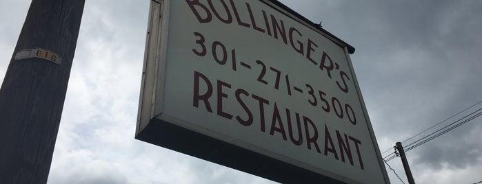 Bollinger's Restaurant is one of FT6.