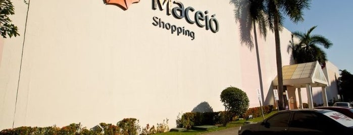 Maceió Shopping is one of Armndo 님이 좋아한 장소.