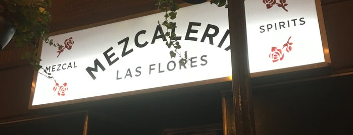 Mezcaleria Las Flores is one of 11 Excellent Margaritas in Chicago.