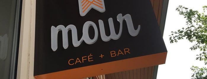 Mour Café + Bar is one of brunch.