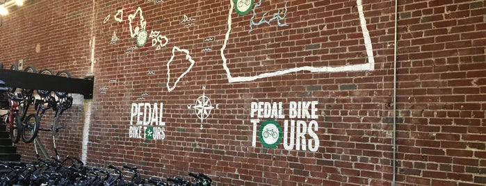 Pedal Bike Tours is one of Portland.