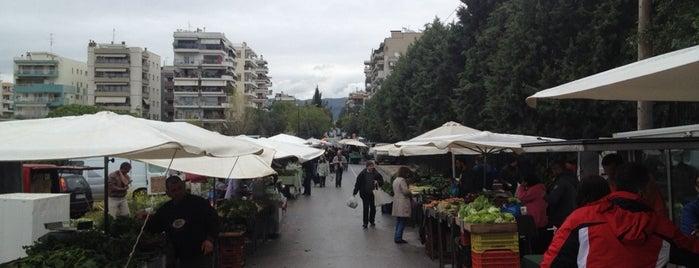 Αγορά Βιοκαλλιεργητών Καλαμαριάς is one of Theo 님이 좋아한 장소.