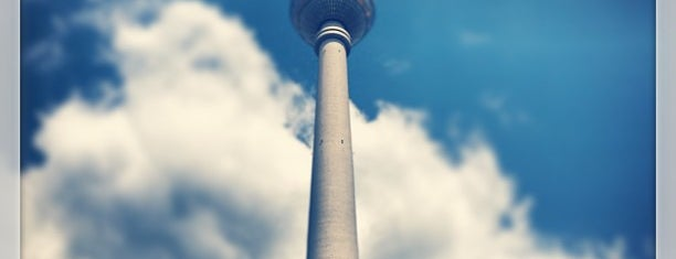 Berliner Fernsehturm is one of memories.