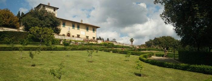 """Villa Medicea """"La Petraia"""" is one of Italy."""