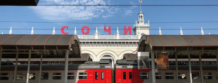 Поезд Ласточка Роза Хутор - Сочи is one of Orte, die Vlad gefallen.