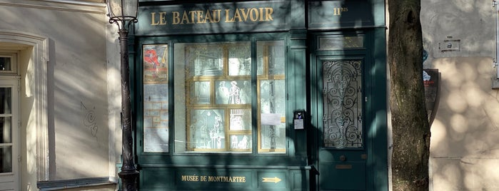 Bateau Lavoir is one of Paris: what to do, where to go.